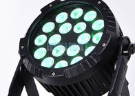 18 X 10 Watt Rgbw 4 In 1 LED Stage Par Lights For Events ,  Parties