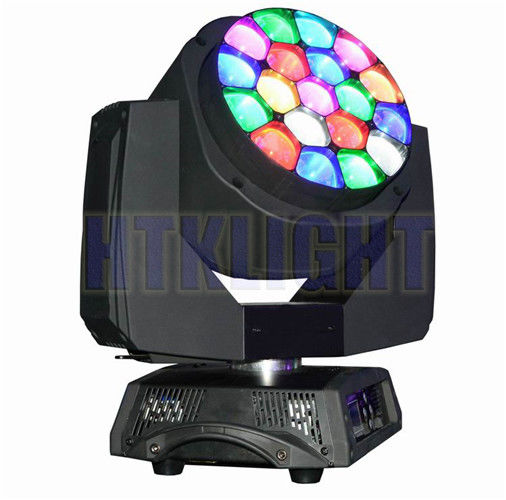 19x15W Mini Bee Eye Moving Head , Professional Show Lighting Led Moving Head