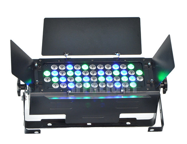 Black Or White Housing 150 W Led Stage Spotlights Master / Slave Control Mode