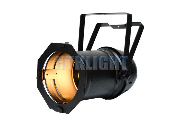Warm White Par Can LED Theatre Spotlights With 15 - 50 Degree Zoom 50 - 60 Hz