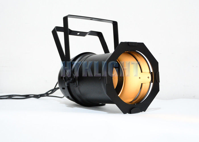 COB Warm / Cool White Par 64 LED Theatre Spot Lights 200W 0 - 20 Times Per Second Strobe
